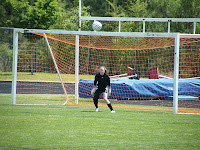 Goalie Allie Springer