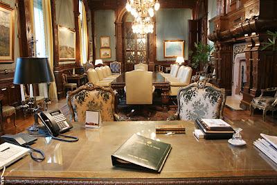 Despacho de la Ministra Weasely-Delacour Casa+rosada.+Despacho+presidencial