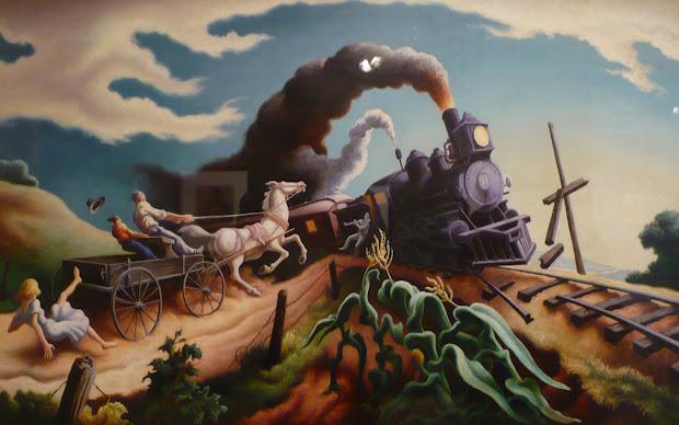 Merry Scribe Riding Rails Part Three