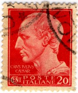 César: Timbre patriotique italien de 1942
