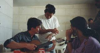 Bai Lide à Cuba en 1995