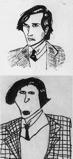 Dessin de Renaud Bouret - 1979
