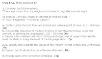 Subiecte titularizare engleza centrul 17
