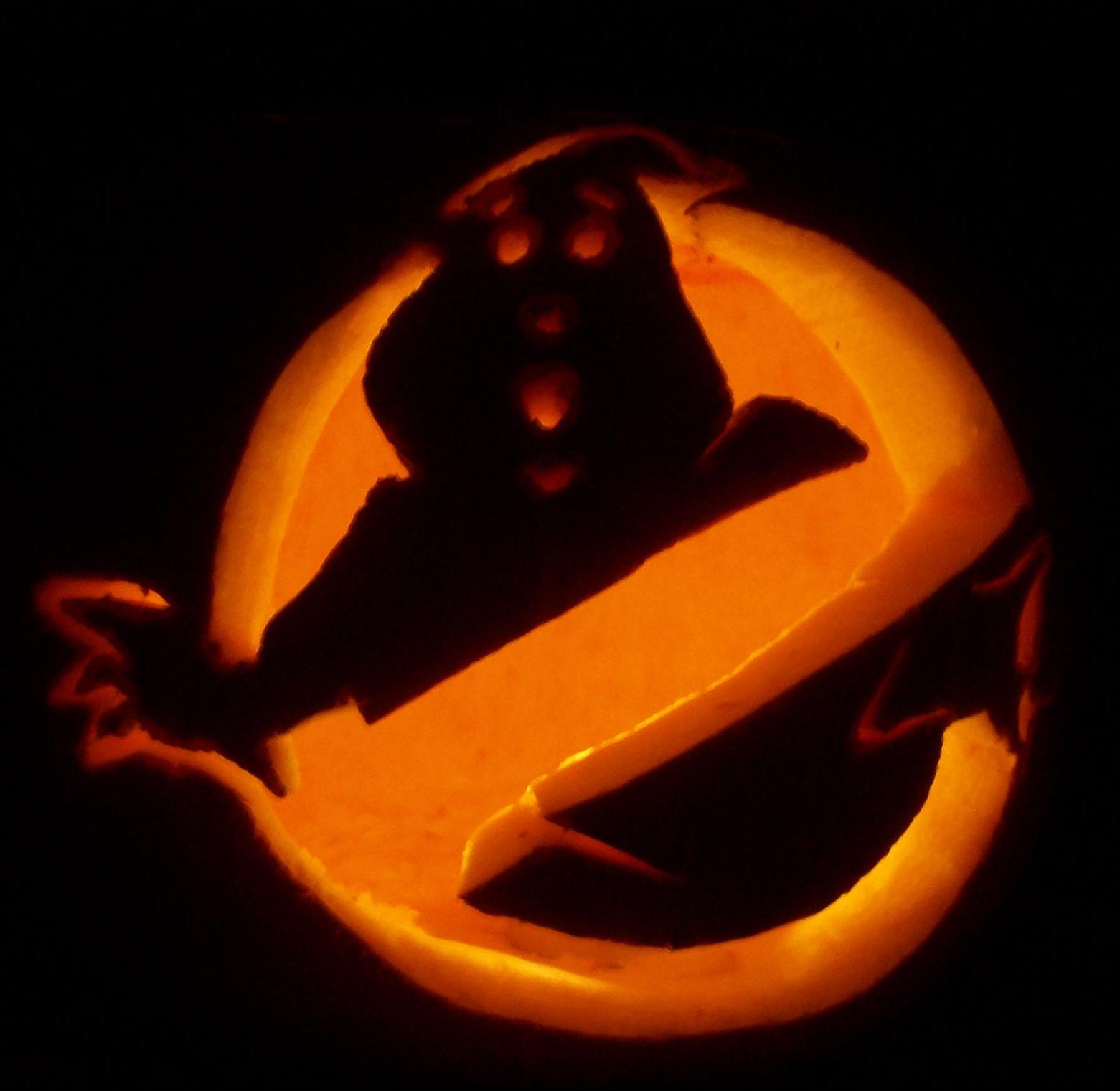 Ghostbusters Pumpkin Carving Ideas Www Topsimages Com