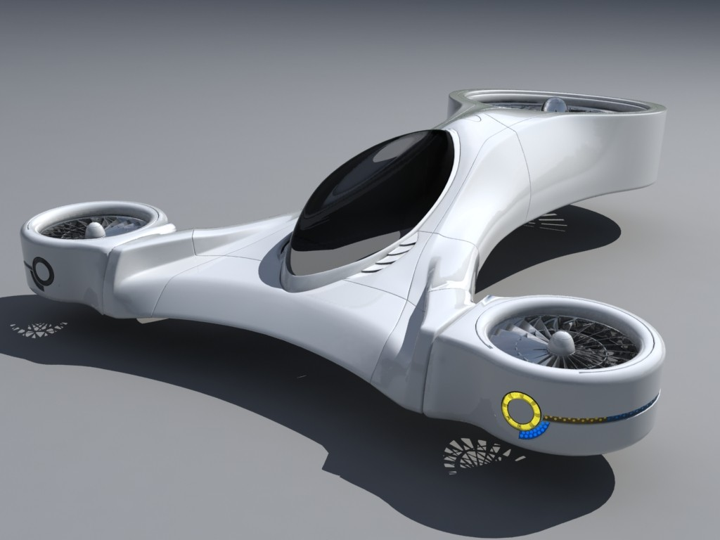 Future Flying Cars View