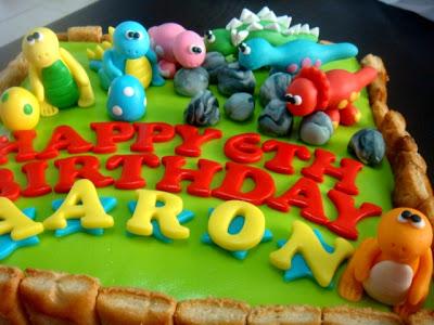 Oven Creations Happy 6th Birthday Aaron