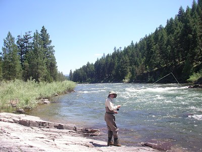 Joe Wenaweser on the Blackfoot River