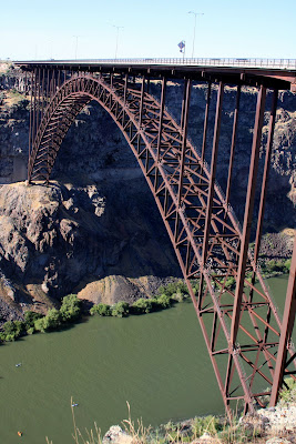 Perrine Bridge over the Snake River Canyon in Twin Falls, Idaho