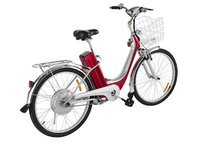 vista de bicicleta electrica etrotter