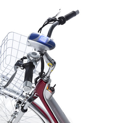 manubrio bicicleta con lcd