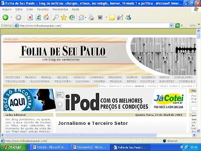 Lógico, que aproveitei o Folha de Seu Paulo prá dar um ctrl c e passar as  informações do Belenos para nosso blog. e26b5fcb3d