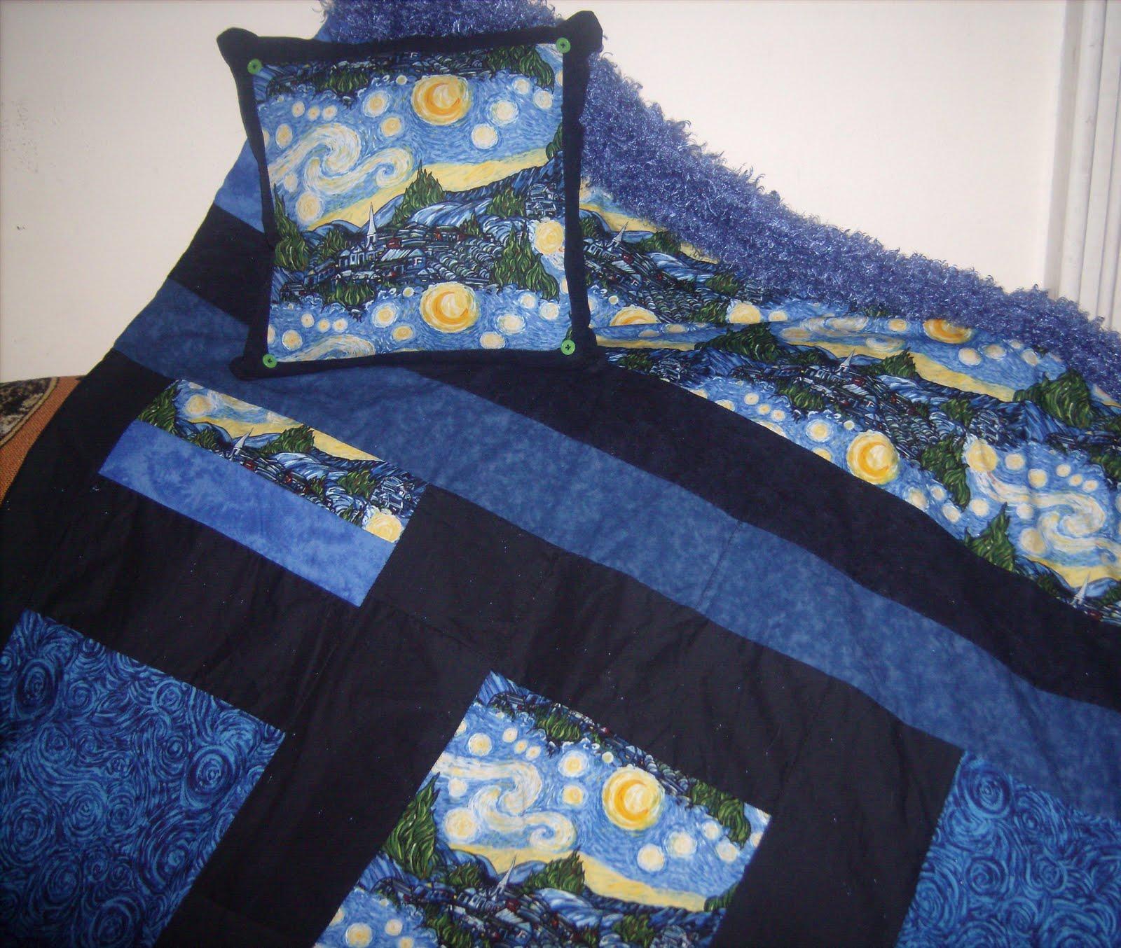 Gina Scustomcreations Vincent Van Gogh Starry Night