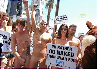 Would Rather Go Naked Than Wear Fur 59