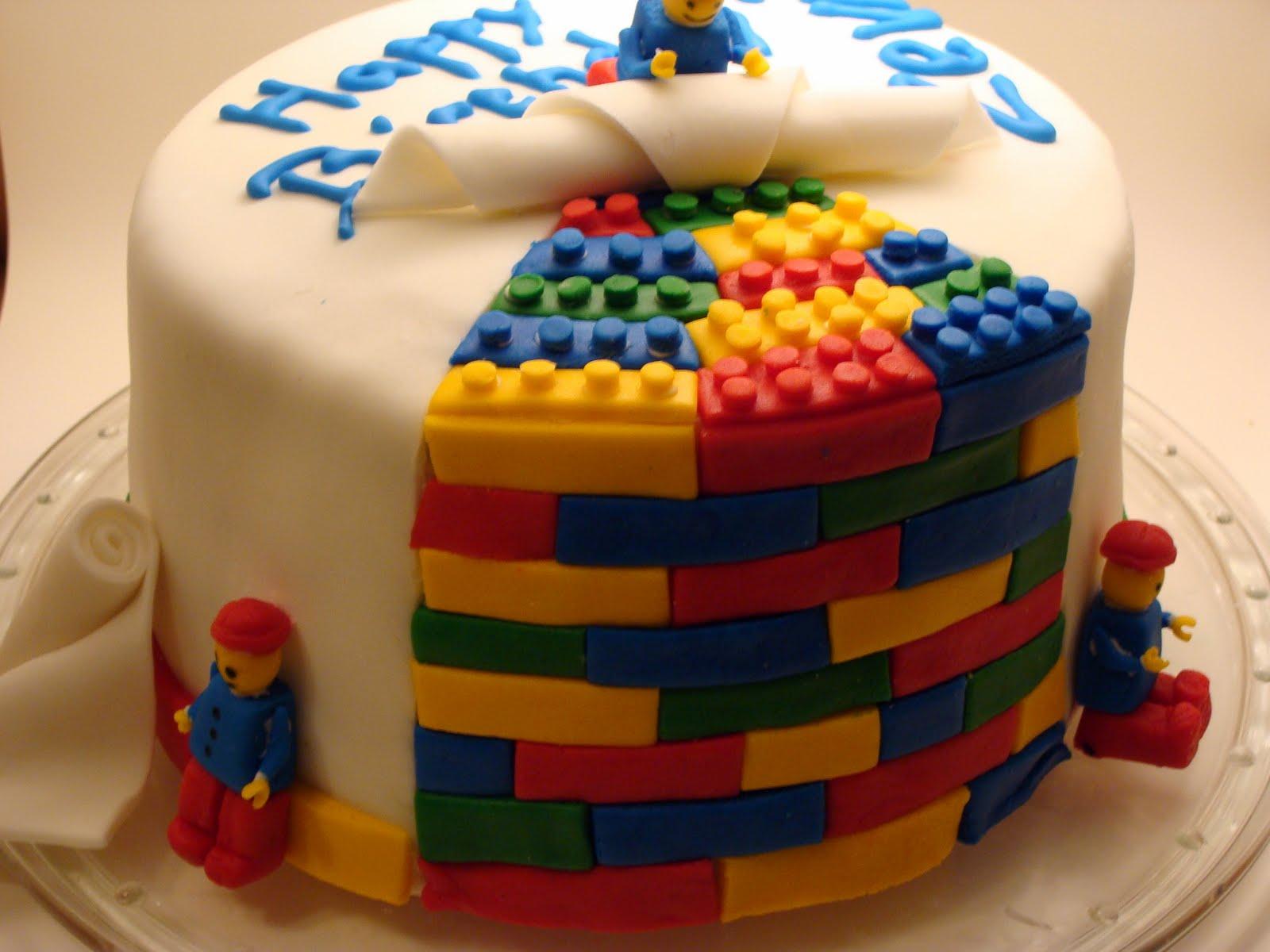Lego Birthday Cake Set