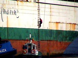 Los prácticos garantizan a los buques la entrada y salida seguras