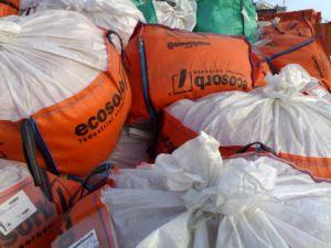 sacos y sacos de secante