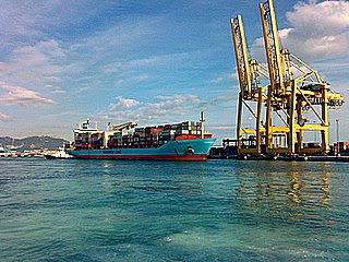 TCA terminal de contenedores del puerto de Algeciras