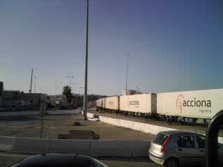 Tren de carga Algeciras-Barcelona