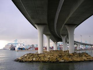 acceso norte al puerto de Algeciras