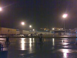 El temporal paraliza el puerto de Algeciras
