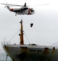 un buque encalló en Algeciras