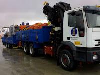 Camión Salvamento Marítimo sin descargar junto al Remolcanosa 5