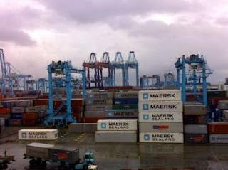 A.P.Møller de Maersk España S.A. recibe dos nuevas grúas portainers