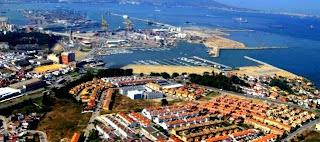 Panorámica Puerto de Algeciras