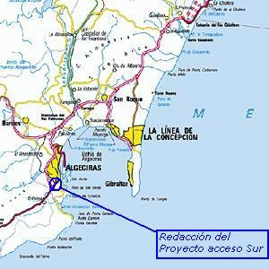 redacción del proyecto de acceso sur al puerto de Algeciras