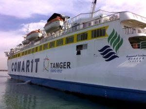BANASA de COMARIT luce el logo de la Expo Tanger 2012