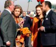 Los Reyes de España y Marruecos