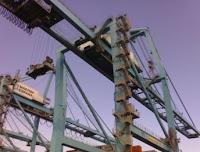 Portainers 11 y 12 de APM Terminals Algeciras