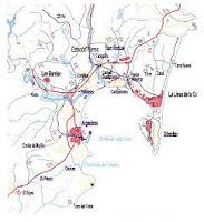 línea férrea industrial