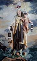 Virgen del Carmen (Stella Maris)