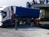 Lodon B descargando en Algeciras