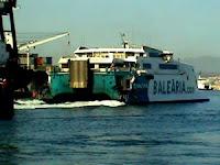 fast ferry de la línea marítima entre Ceuta y Algeciras