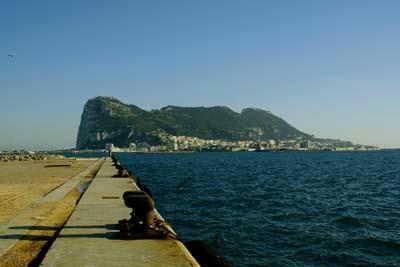 Gibraltar desde Campamento