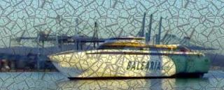 Baleària en huelga el día 1