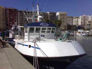 Barco pesquero Algeciras