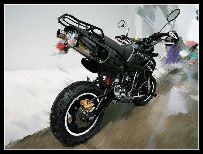 New Kawasaki Ksr Modification