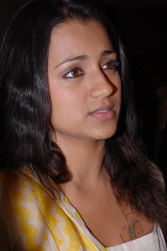 தரஷ Most Popular South Indian Actress