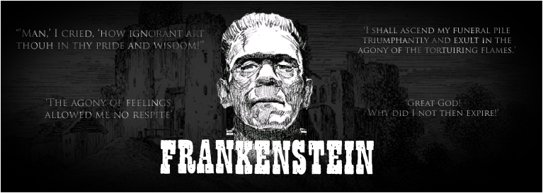 frankenstein a dark romantic tale of Frankenstein (romantic and gothic horror) it is set in a dark and gloomy place in common with the gothic tales, frankenstein made use of the correspondence.