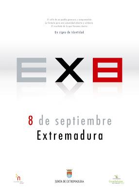 Extremadura 8 de Septiembre, el cartel oficial