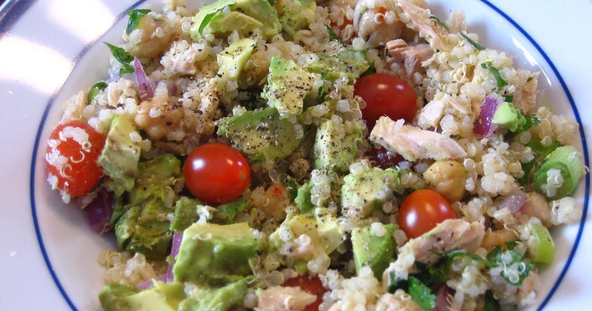 Recipes from 4EveryKitchen: Quinoa, Tuna, Lime & Cilantro Salad