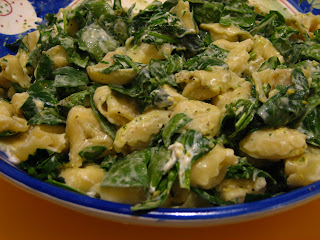 Spinach Cheese Tortellini