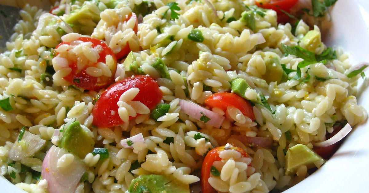 Recipes from 4EveryKitchen: Orzo Salad with Feta Cheese