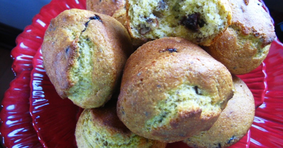 Recipes from 4EveryKitchen: Cherry Pecan Cornbread Muffin