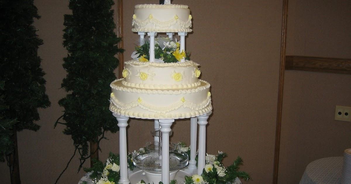 Chocolate Fountain Cake Recipe