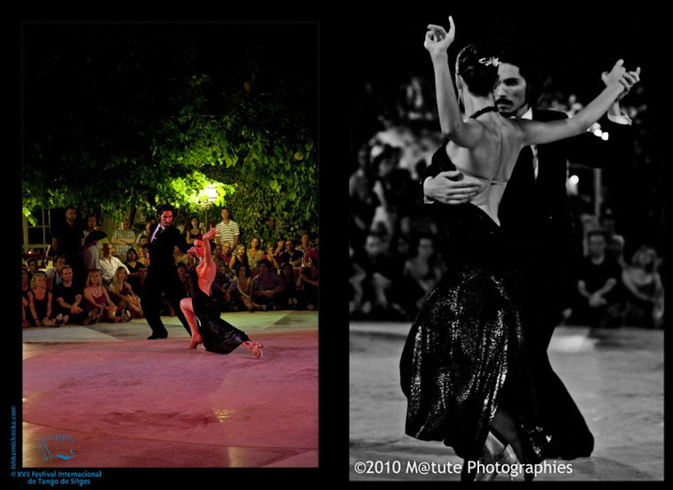 Performance in Sitges Tango Festival 2010