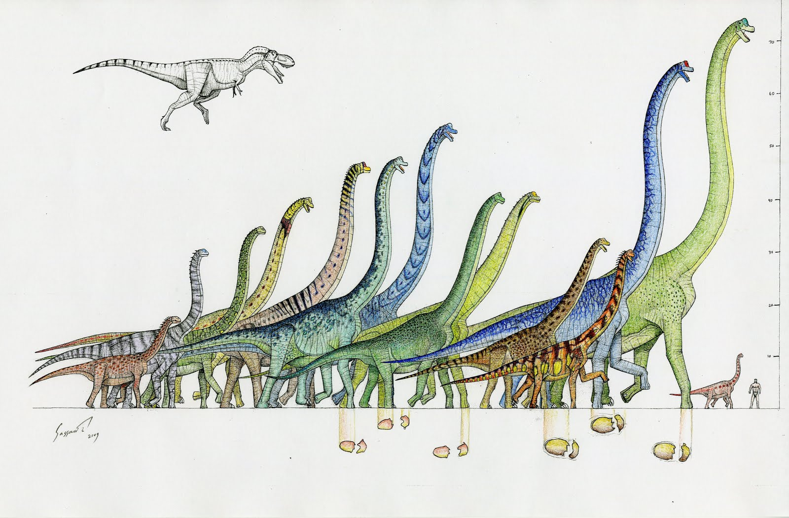 The Brachiosaur Parade - 90 million years of giant ...